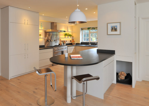 A Modern Kitchen in a country House Near Petworth
